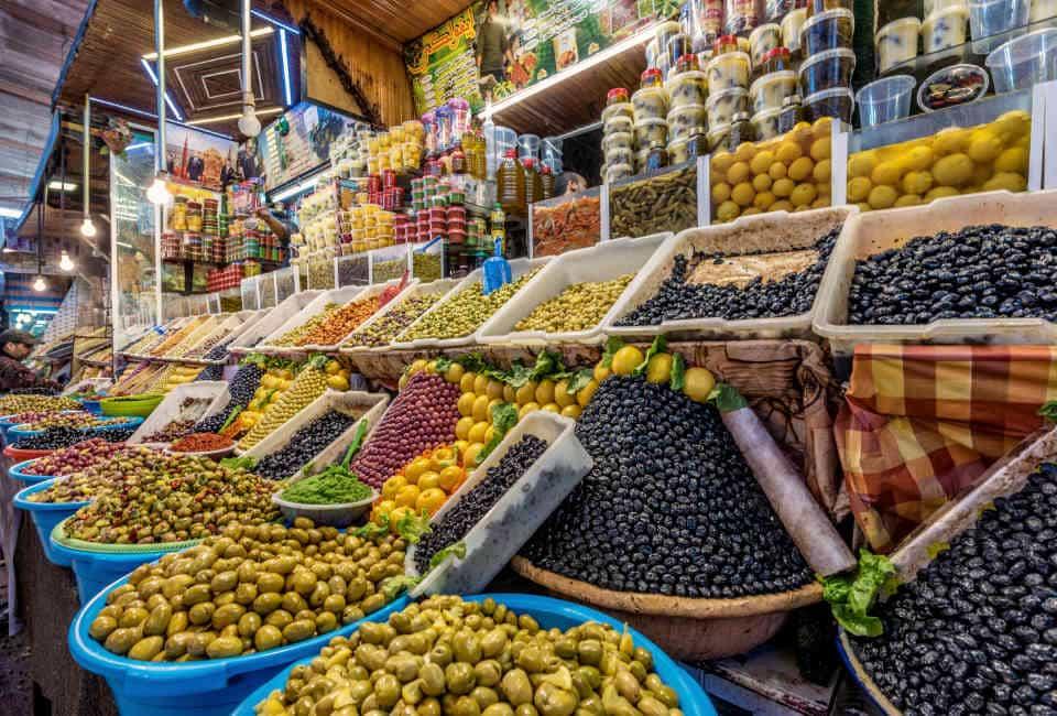 round trip through morocco souk