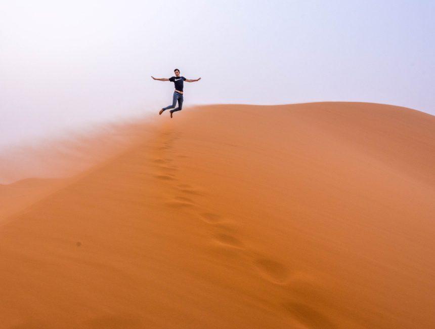 Sam Marokko Wüste