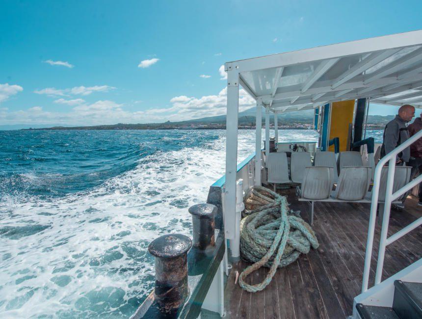 Atlanticoline Boote Azoren