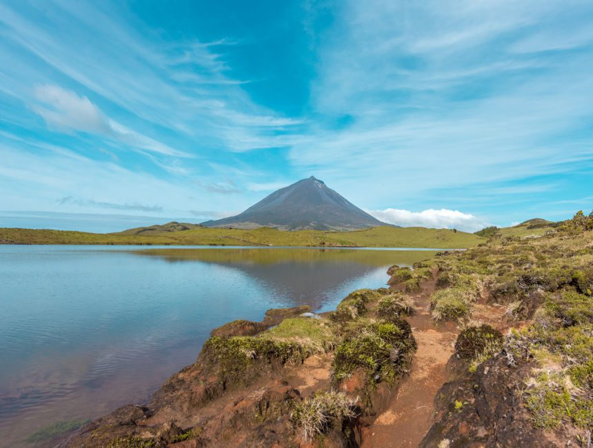 Lagoa do Capitao Pico Insel Sehenswuerdigkeiten Azoren
