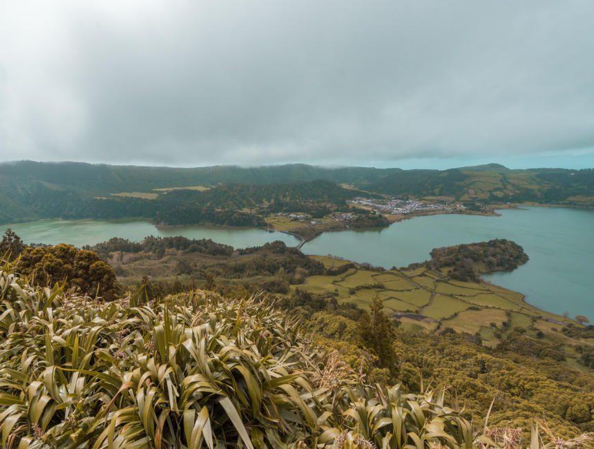 Caldeira das Sete Cidades sehenswertes Azoren