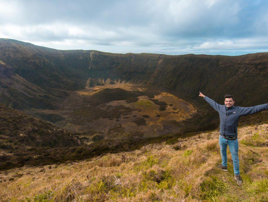 Caldeira Faial Sehenswürdigkeiten Azoren