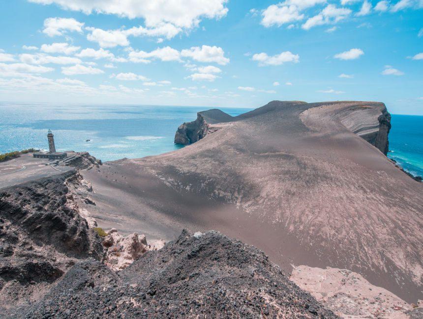 Capelinhos Vulkan Faial Azoren