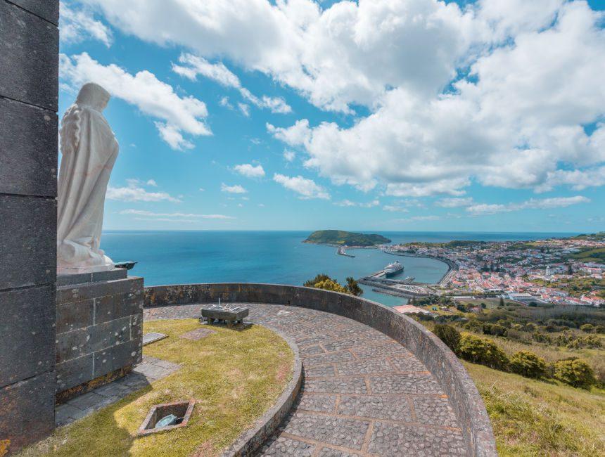 Espalamaca Aussichtpunkt Sehenswürdigkeiten Faial Azoren