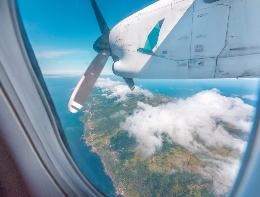 Inselhopping Azoren SATA Airlines