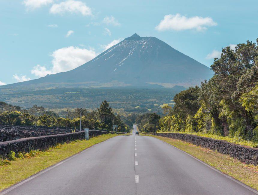 Pico Azoren Sehenswürdigkeiten Vulkan