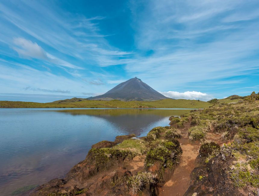 Pico azoren vulkan