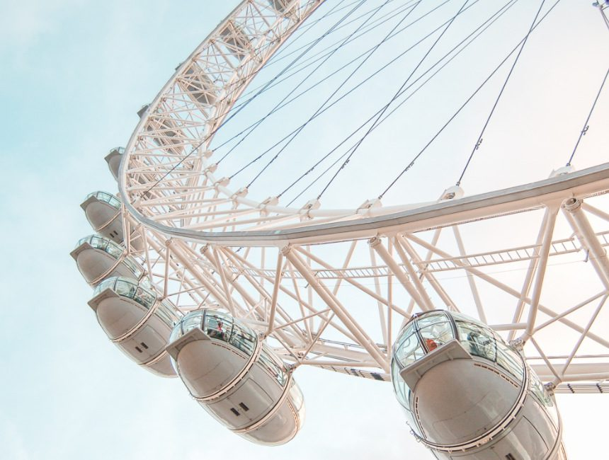 Attraktionen London Riesenrad London Eye