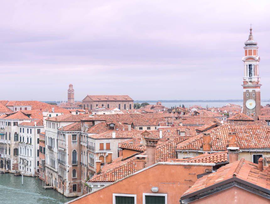 Aussicht T Fondaco dei Tedeschi Venedig
