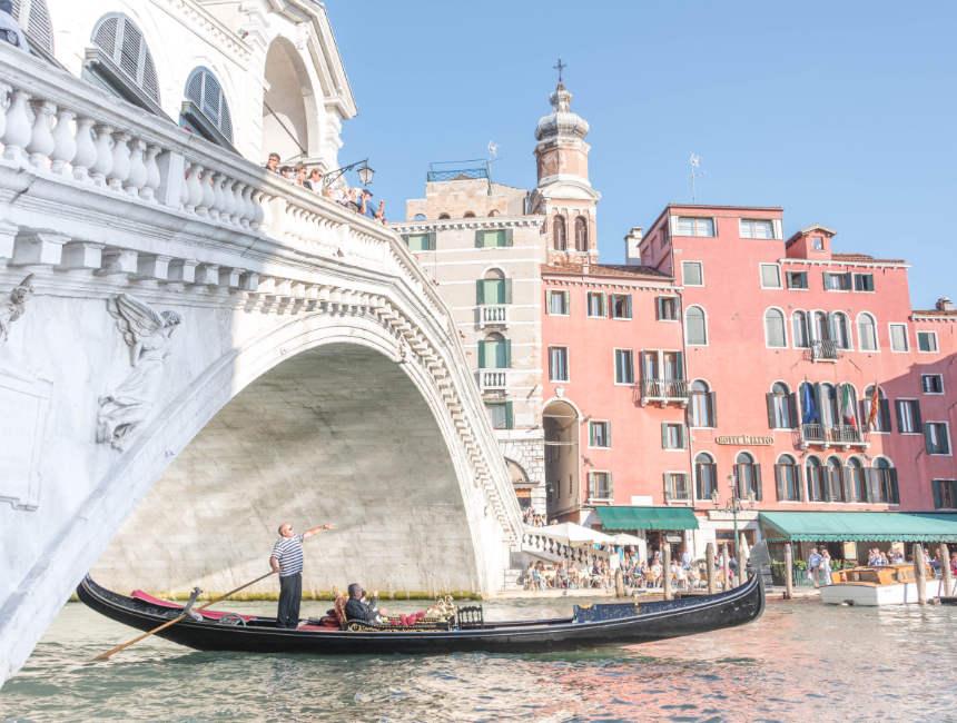 Gondel Fahrt Venedig Ausflüge
