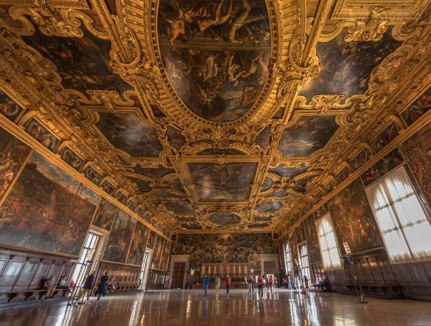 Innere Dogenpalast Venedig Sehenswürdigkeiten