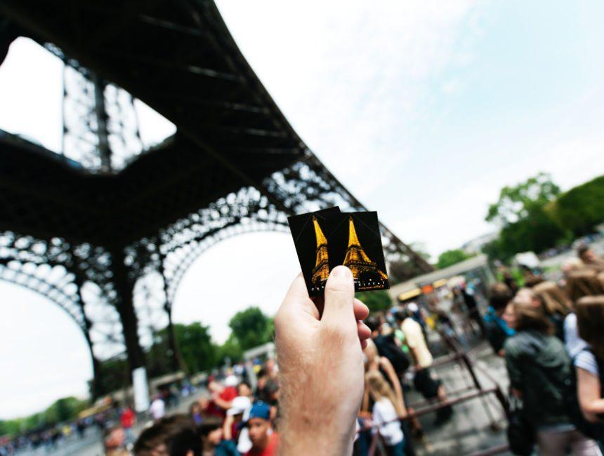 Karten Eiffelturm