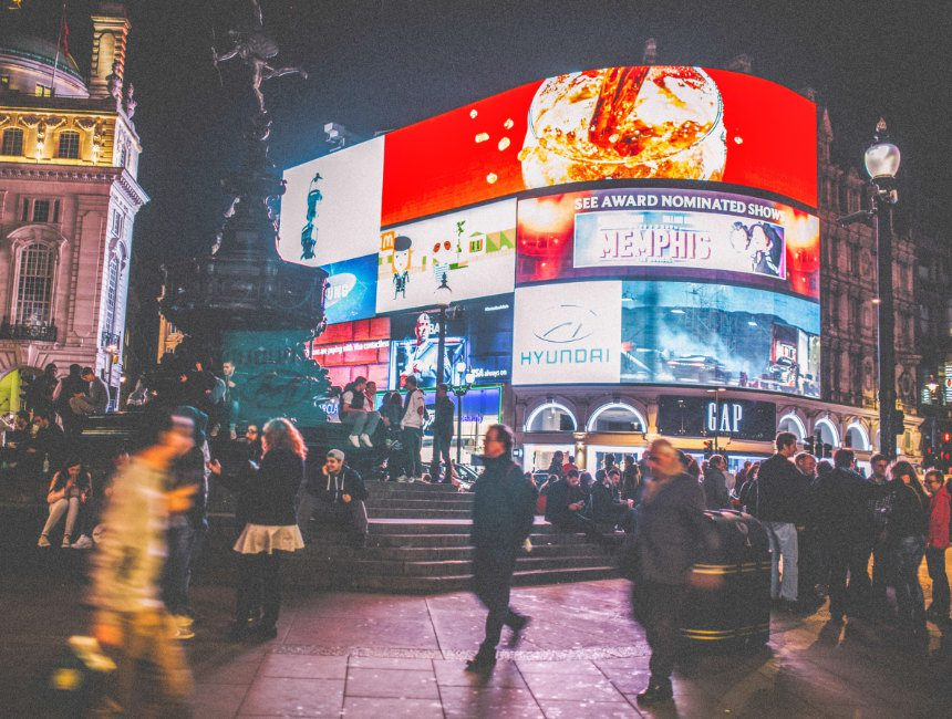 London Interessante Orte Piccadilly Circus