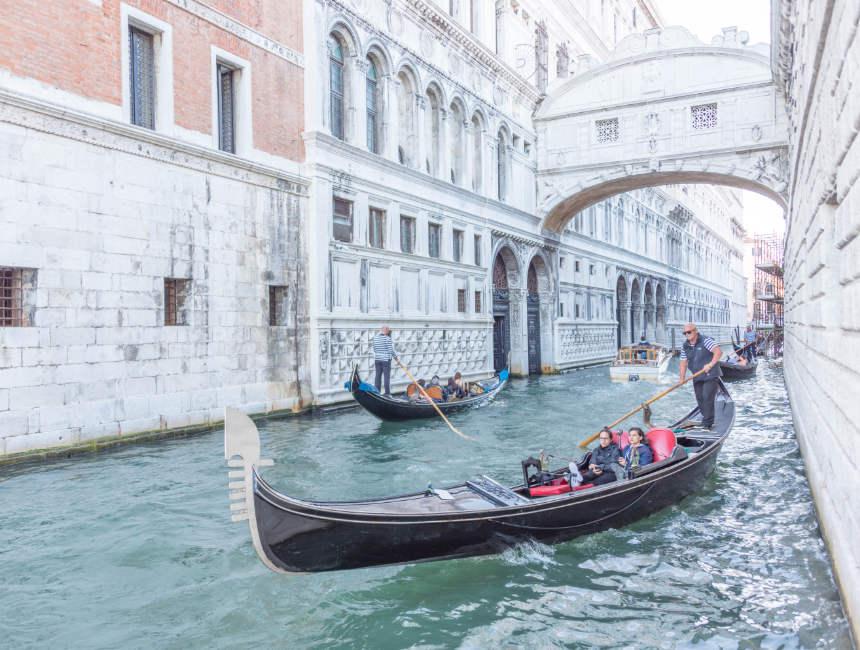 Seufzerbrücke Sehenswürdigkeiten Venedig