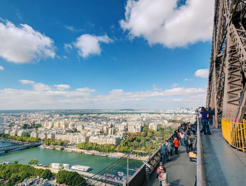 Aussicht Eiffelturm
