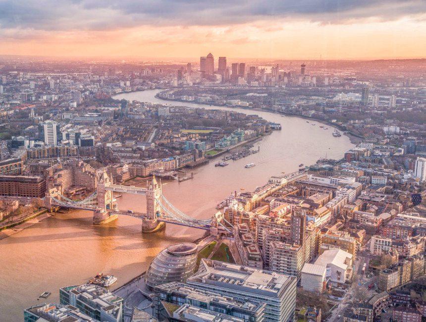 Aussicht the shard london