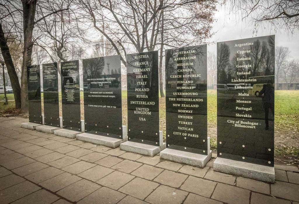 Eingang Auschwitz Museum