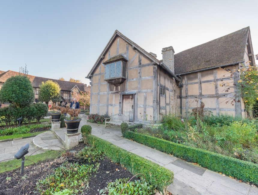Shakespeares Geburtshaus Stratford Upon Avon