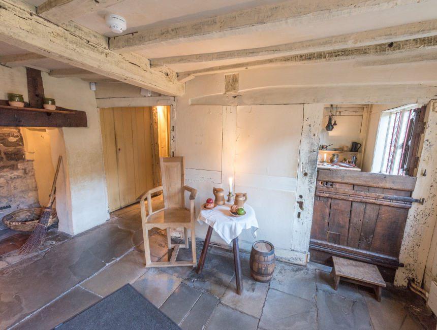 Innere Geburtshaus Shakespeare