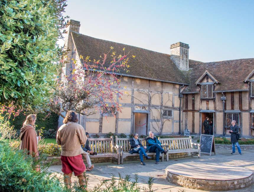 Stratford Upon Avon Shakespeare Geburtsort