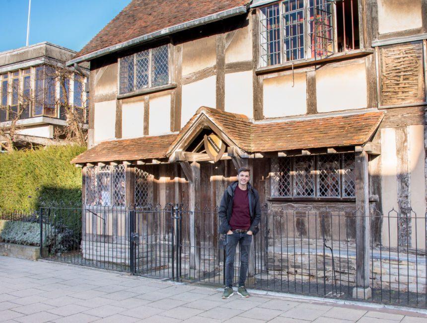Stratford Upon Avon Shakespeares Geburtshaus