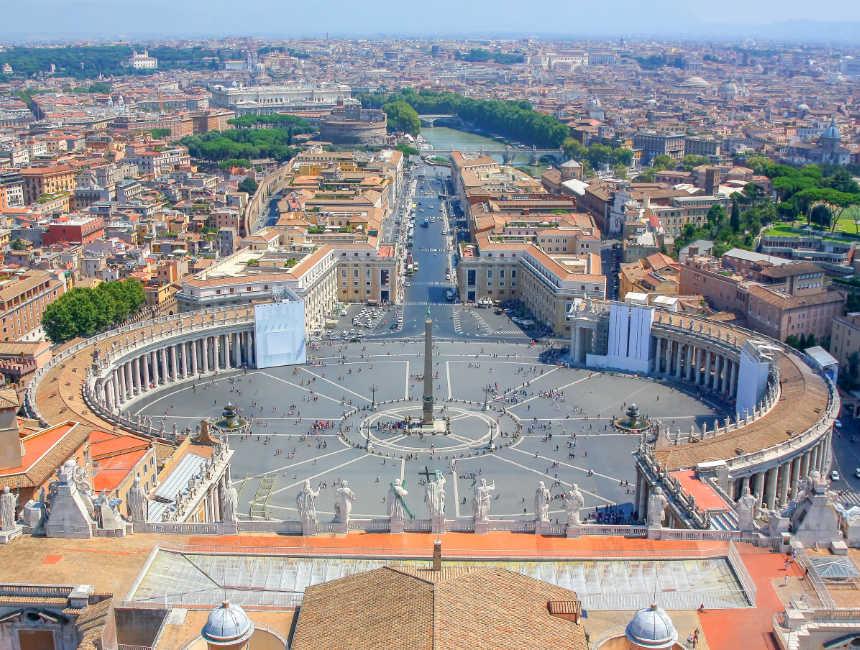 Kuppel Petersdom besichtigen