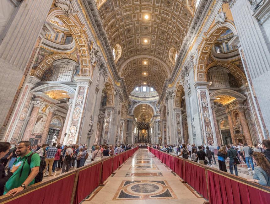 Petersdom Vatikan besuchen
