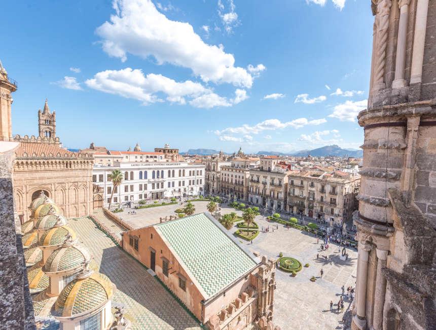 Aussicht Kathedrale Palermo