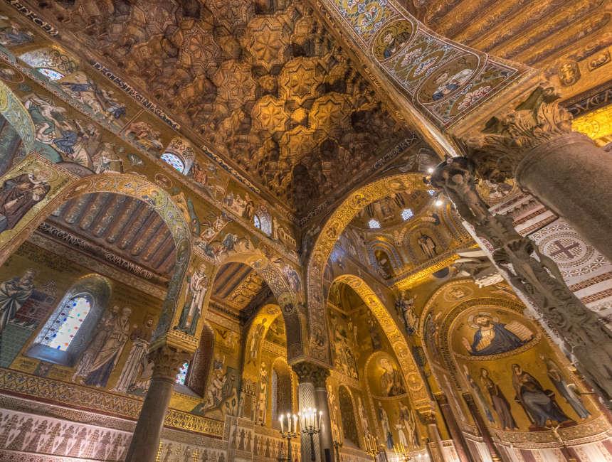 Capella Palatino Palazzo dei Normanni Palermo Sehenswuerdigkeiten