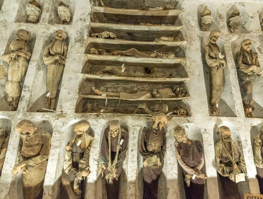 Katakomben Palermo Interessante Orte