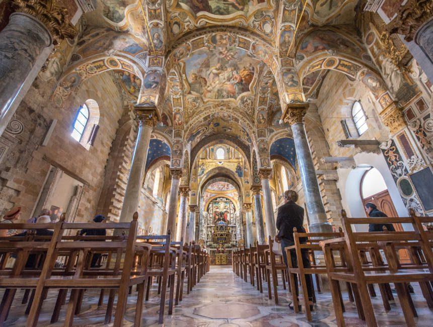 Santa Maria Dell'Ammirgalio Sehenswürdigkeiten Palermo Martorana