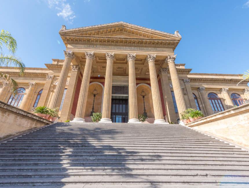 Teatro Massimo Interessante Orte Palermo