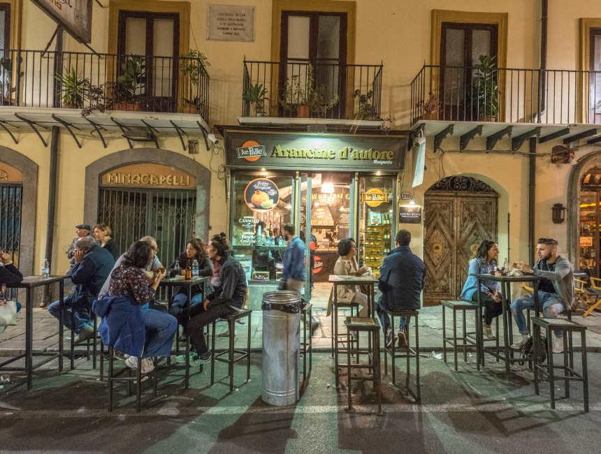 Ke Palle Palermo Restaurant Arancina