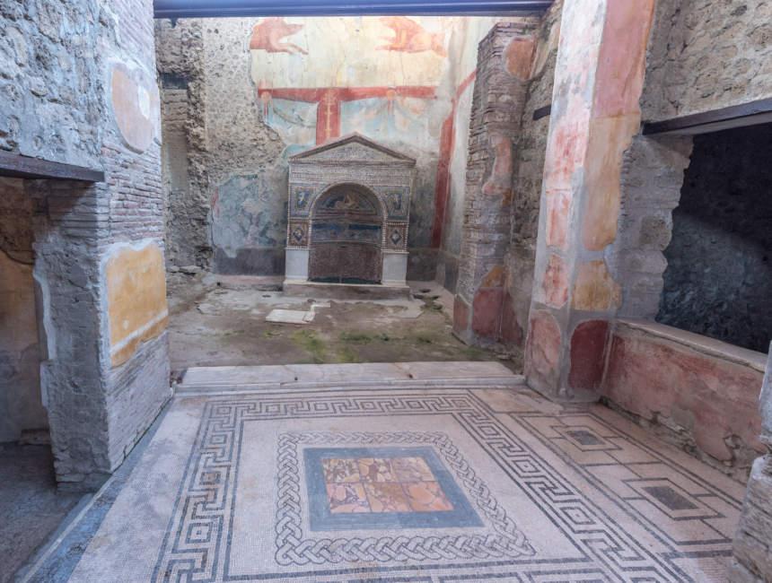 Geschäfte und Häuser Pompeji