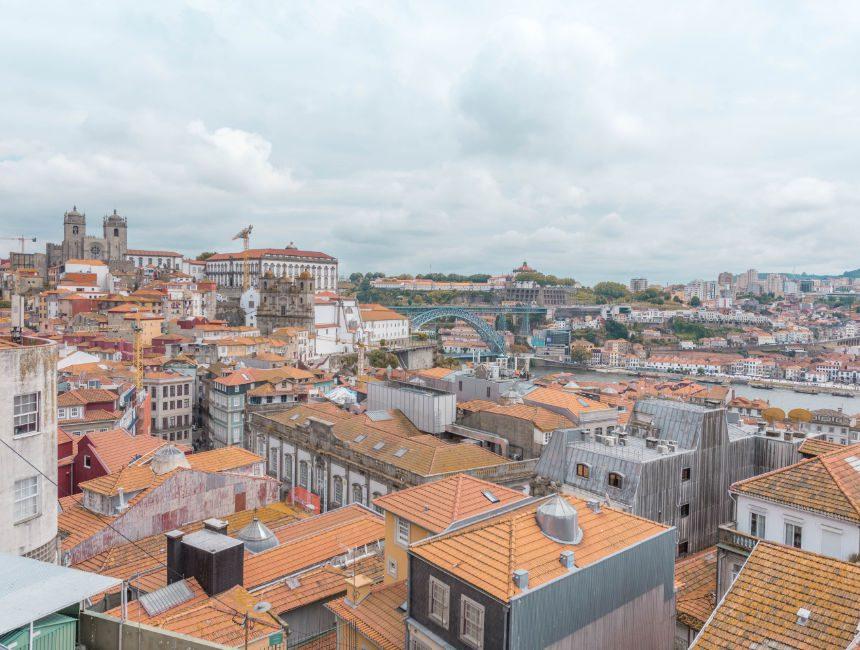Miradouro da Vitoria Porto Aussichtpunkt