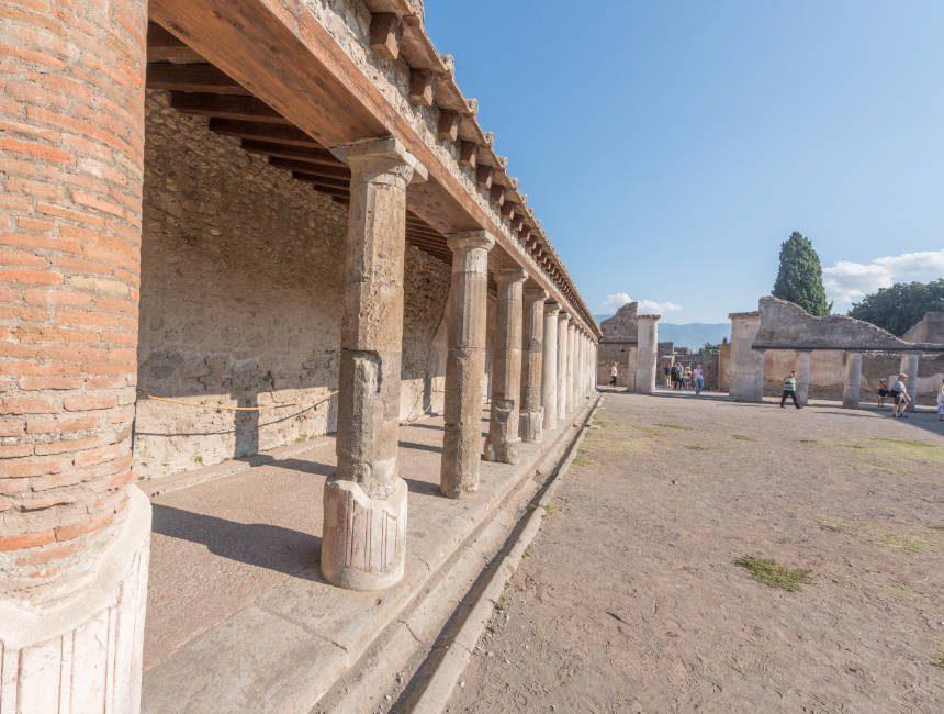 Sehenswürdigkeiten Pompeji Badehäuser