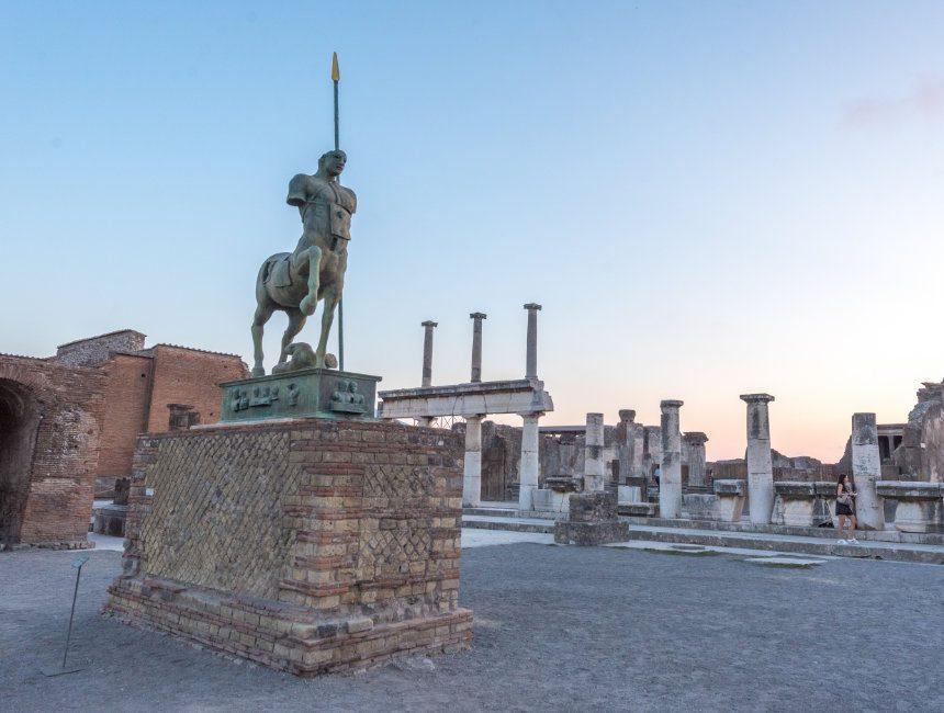 besuchen Pompeji