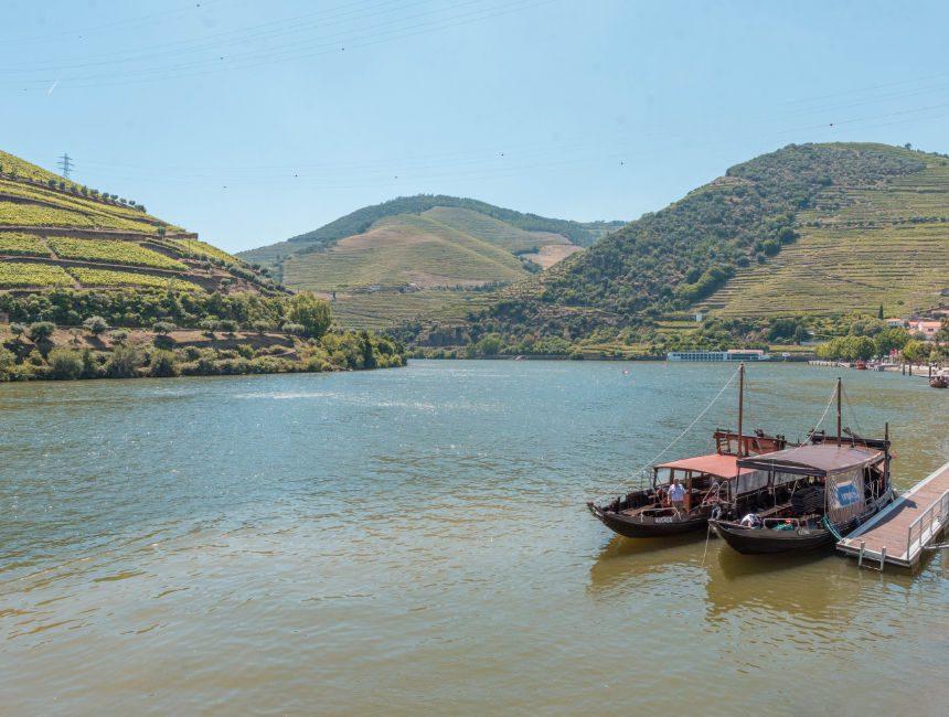 Douro Tal Rabelo Bootsfahrt