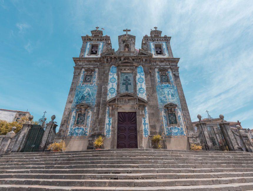 Igreja de Santo Ildefonso Azulejos Porto sehenswertes