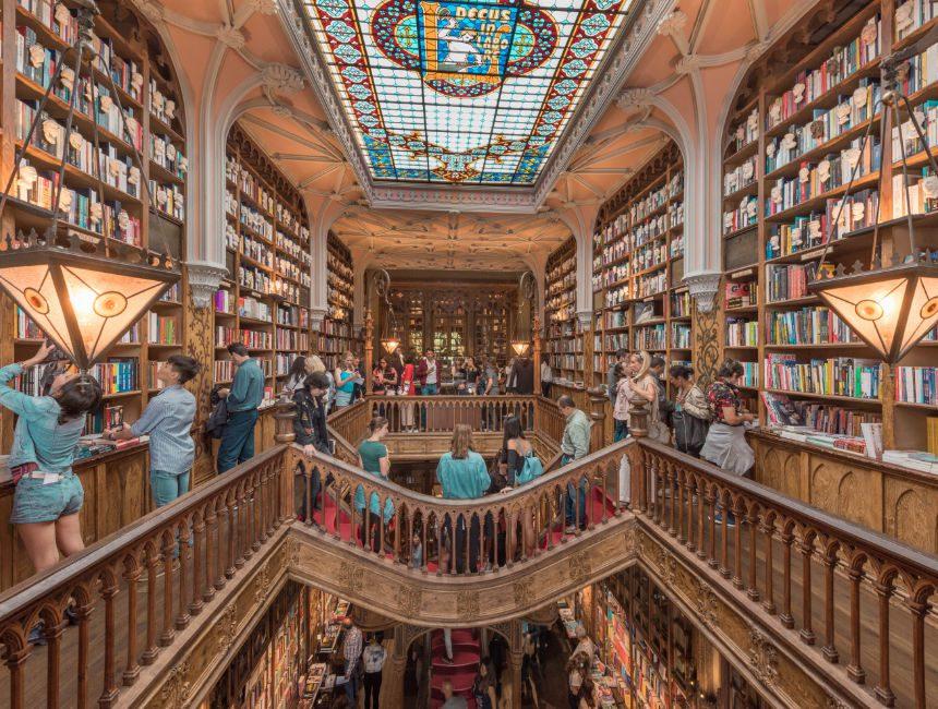 Libraria Lello Attraktionen Porto
