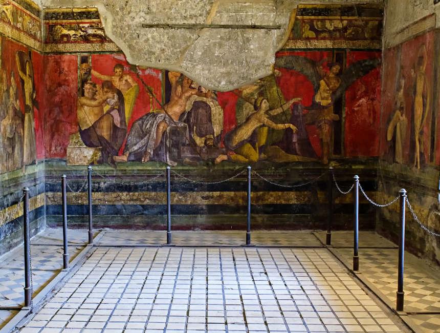 villa dei misteri Pompeji sehenswürdigkeiten
