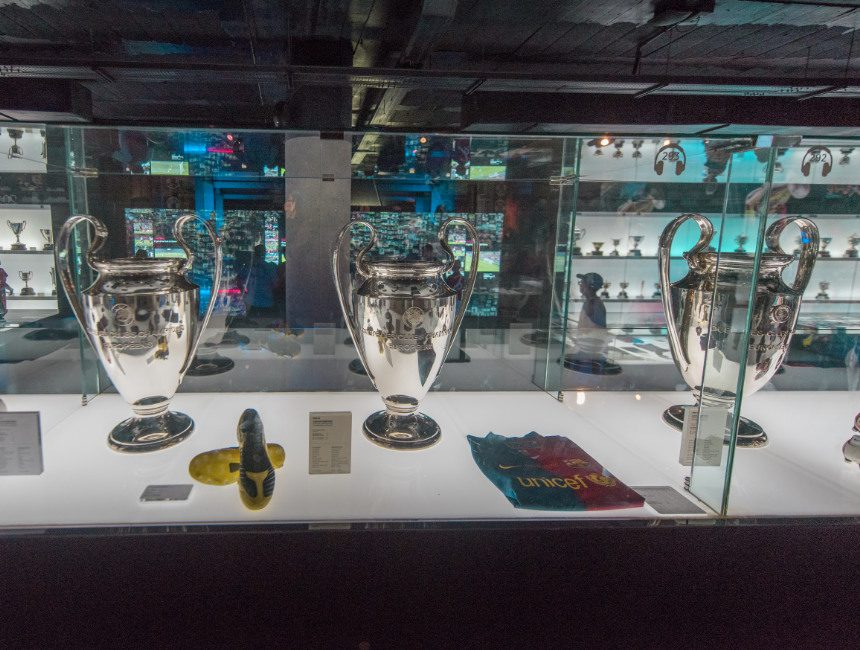 Besichtigung Camp Nou Barcelona