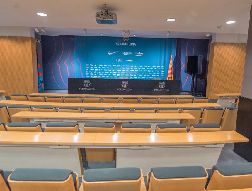 Presseraum Camp Nou