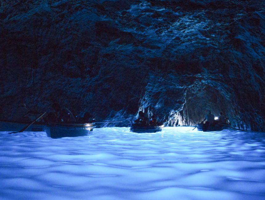 Blaue Grotte Capri Ausflüge Neapel