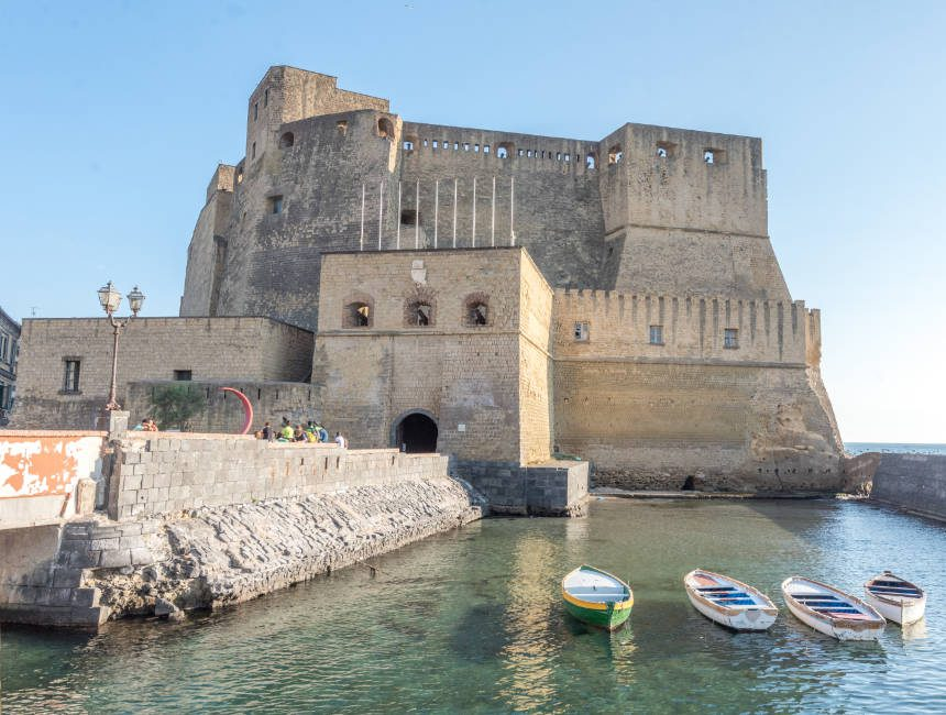 Castell dell Ovo Ausflüge Neapel