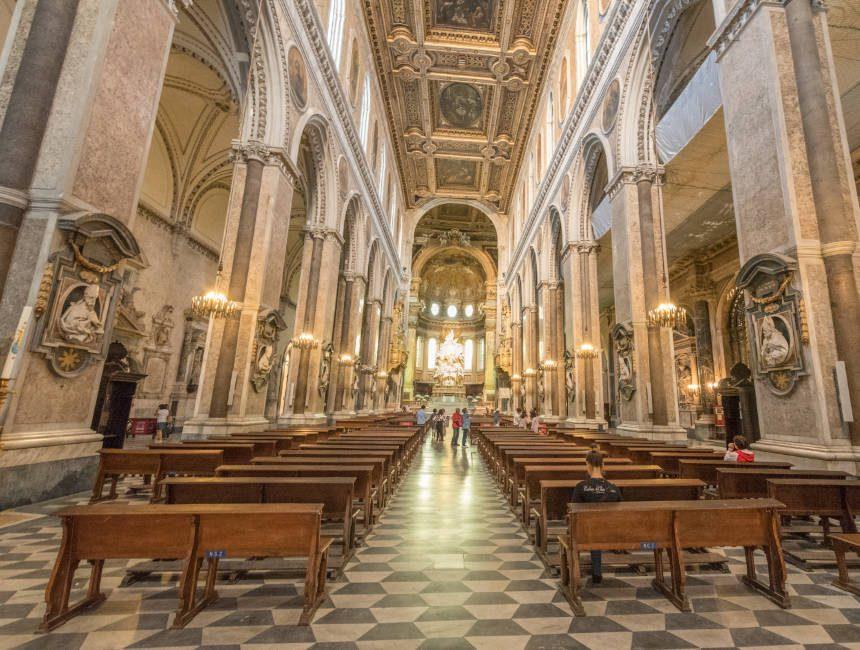Kathedrale Neapel Sightseeing