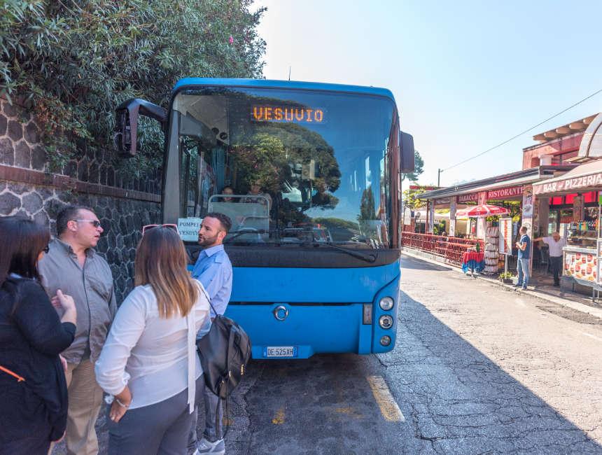 Pompeji Vesuv besuchen