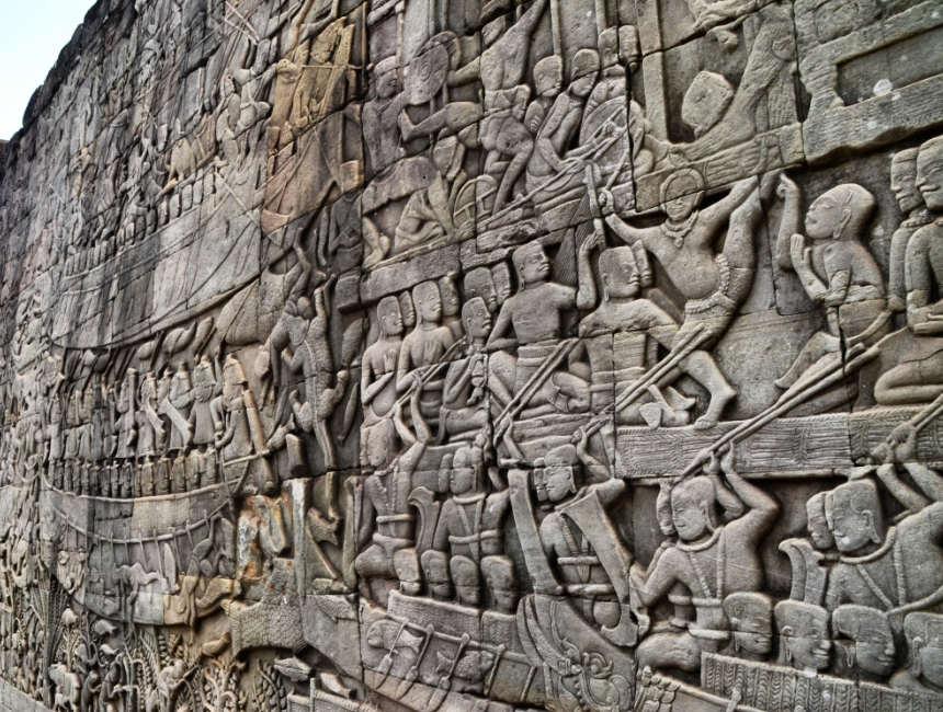 Siem Reap nach Angkor Tour