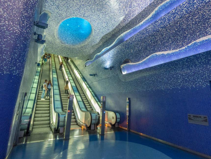 U-Bahn-Station Toledo Neapel