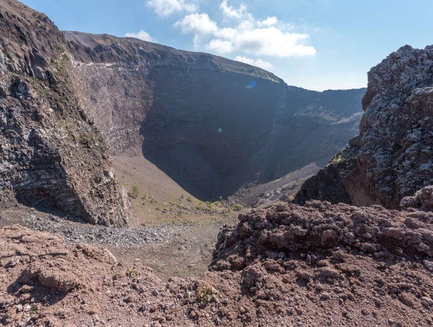 Vesuv besuchen
